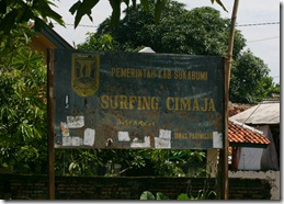 The Sign by the Path to Cimaja Point