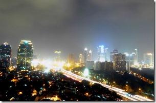 Jakarta Skyline (From WikiMedia Commons)